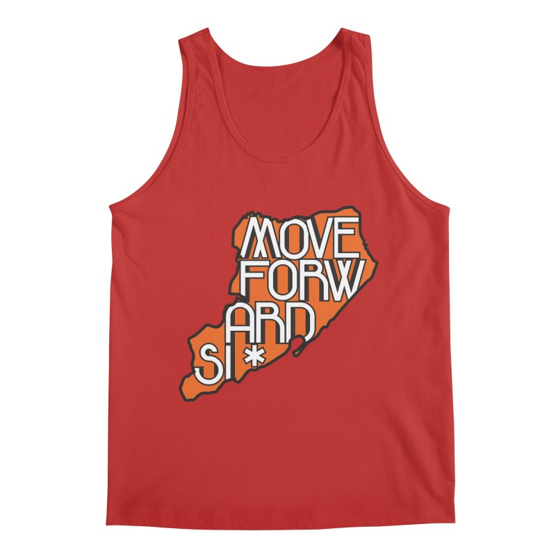 Move Forward Staten Island Men's Regular Tank by moveforwardsi's Artist Shop