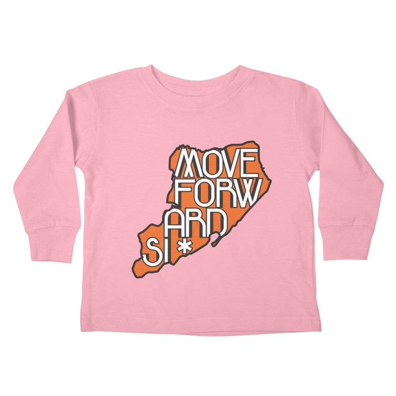 Move Forward Staten Island Kids Toddler Longsleeve T-Shirt by moveforwardsi's Artist Shop