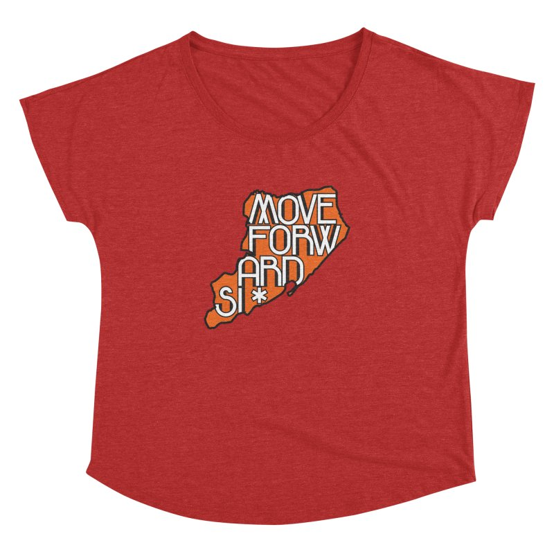 Move Forward Staten Island Women's Dolman Scoop Neck by moveforwardsi's Artist Shop