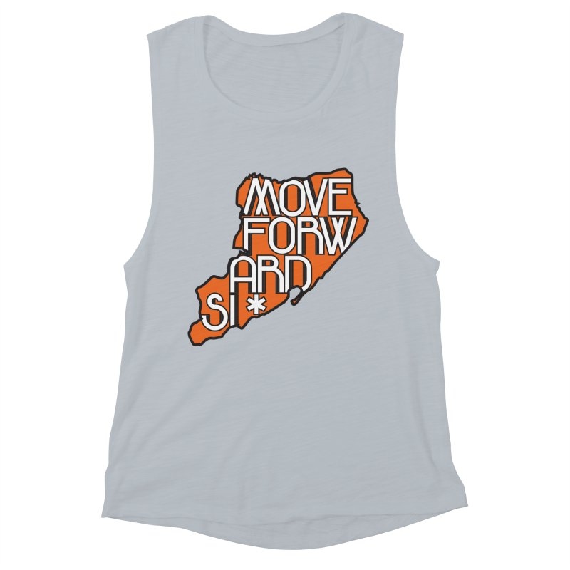 Move Forward Staten Island Women's Muscle Tank by moveforwardsi's Artist Shop