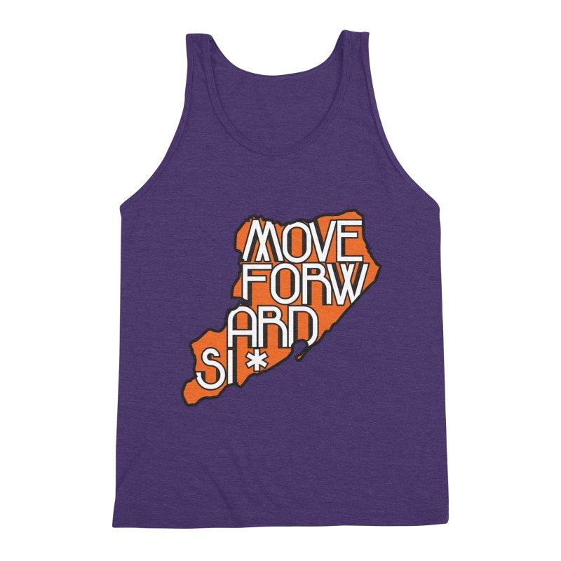 Move Forward Staten Island Men's Triblend Tank by moveforwardsi's Artist Shop