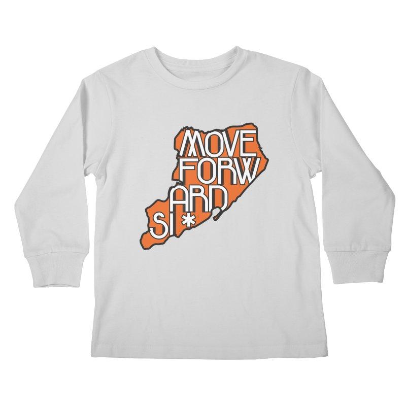 Move Forward Staten Island Kids Longsleeve T-Shirt by moveforwardsi's Artist Shop