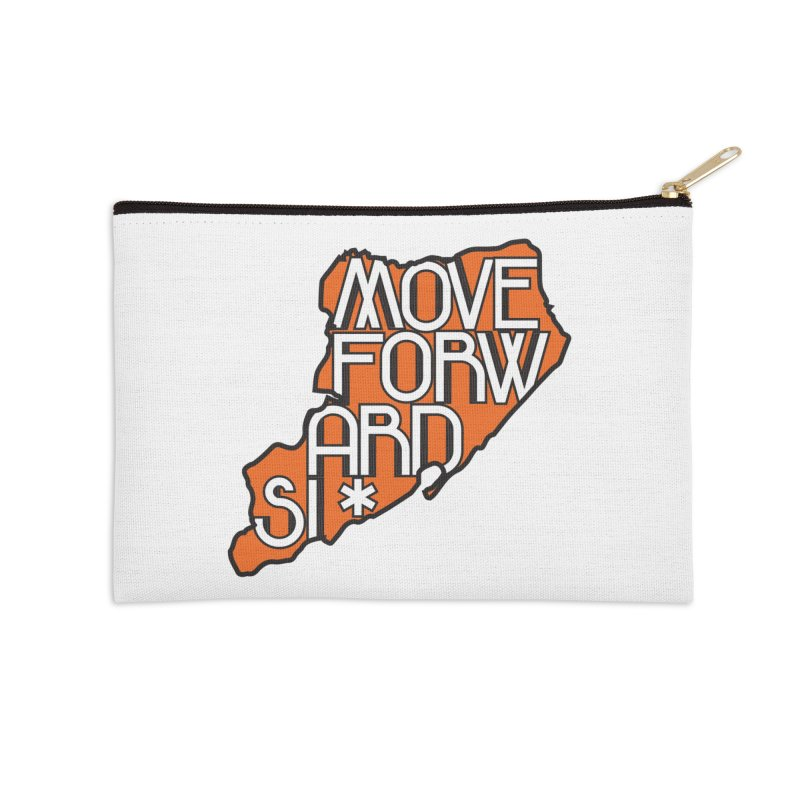Move Forward Staten Island Accessories Zip Pouch by moveforwardsi's Artist Shop