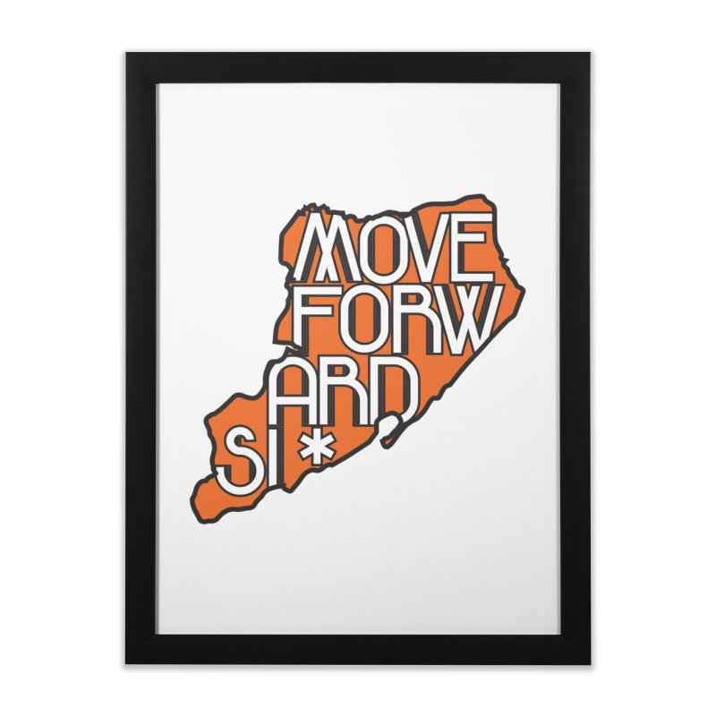 Move Forward Staten Island Home Framed Fine Art Print by moveforwardsi's Artist Shop