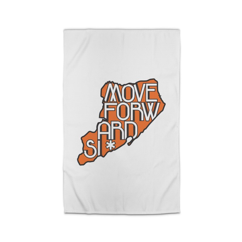 Move Forward Staten Island Home Rug by moveforwardsi's Artist Shop