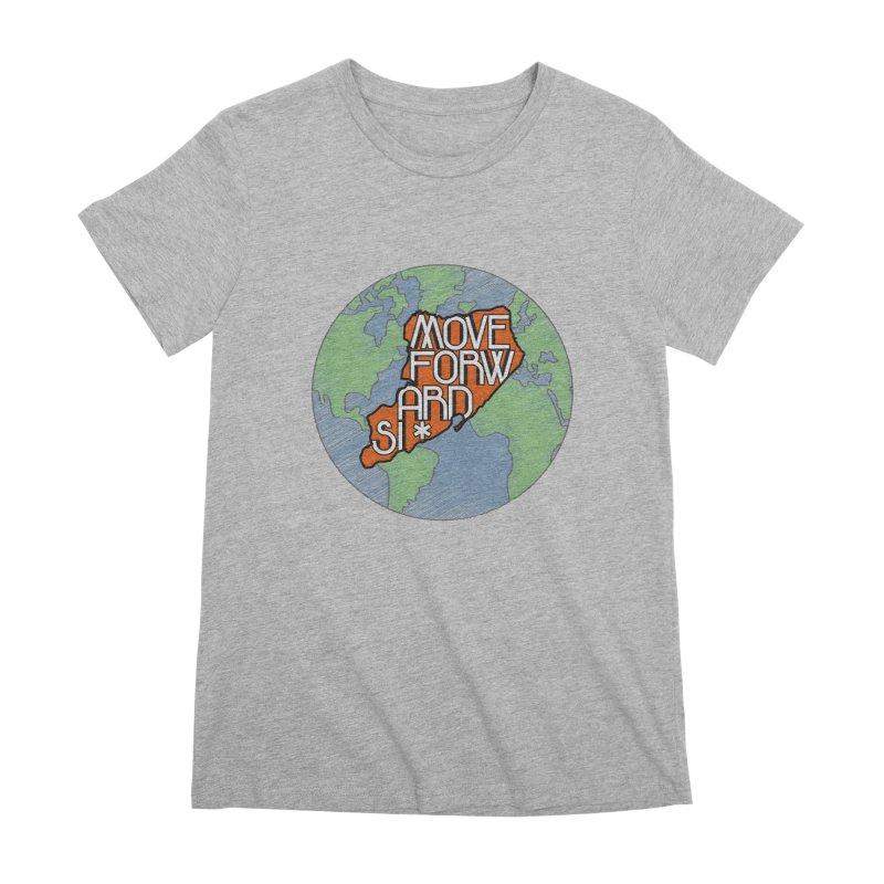Love Our Island Women's Premium T-Shirt by moveforwardsi's Artist Shop