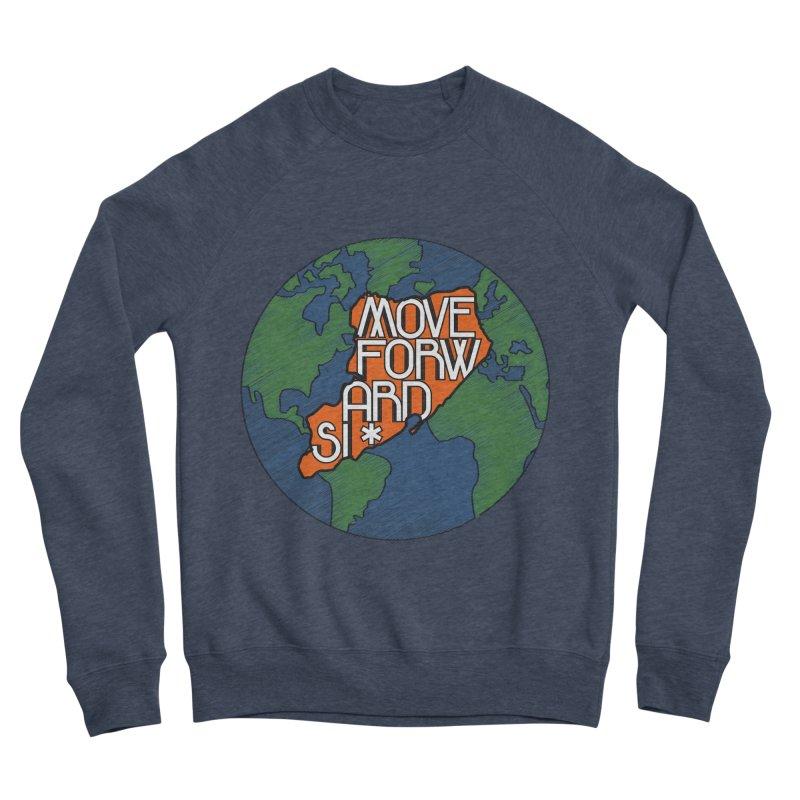 Love Our Island Men's Sponge Fleece Sweatshirt by moveforwardsi's Artist Shop