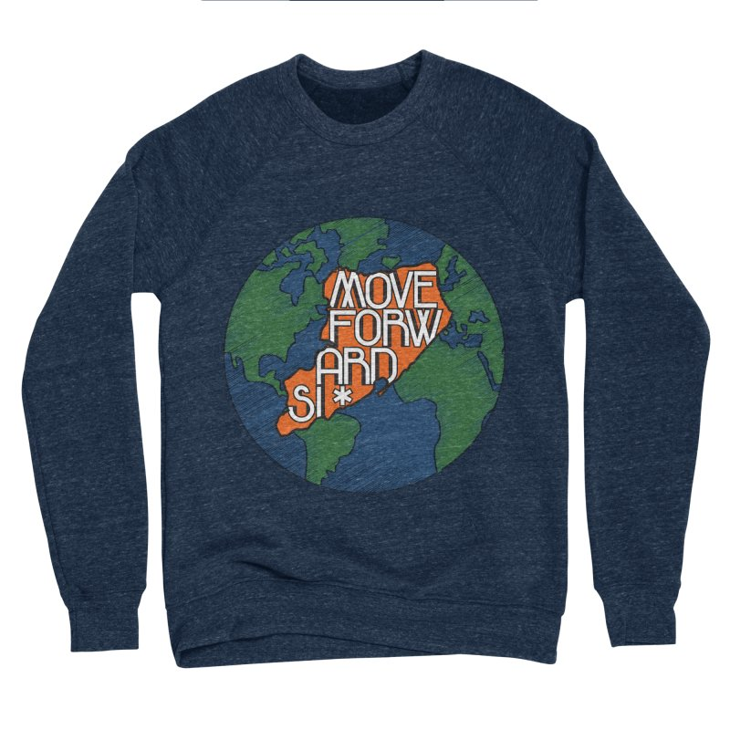 Love Our Island Men's Sponge Fleece Sweatshirt by moveforwardsi's Artist Shop