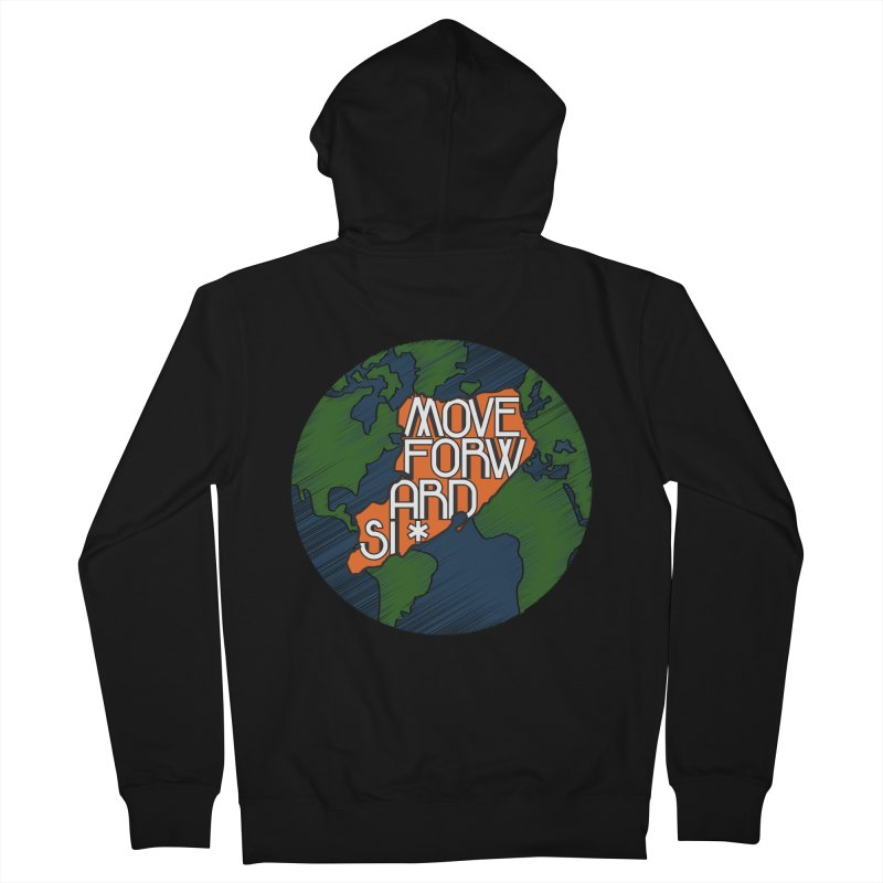 Love Our Island Women's French Terry Zip-Up Hoody by moveforwardsi's Artist Shop