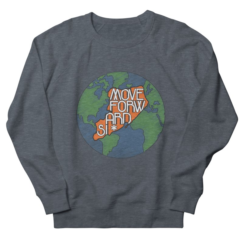Love Our Island Men's French Terry Sweatshirt by moveforwardsi's Artist Shop