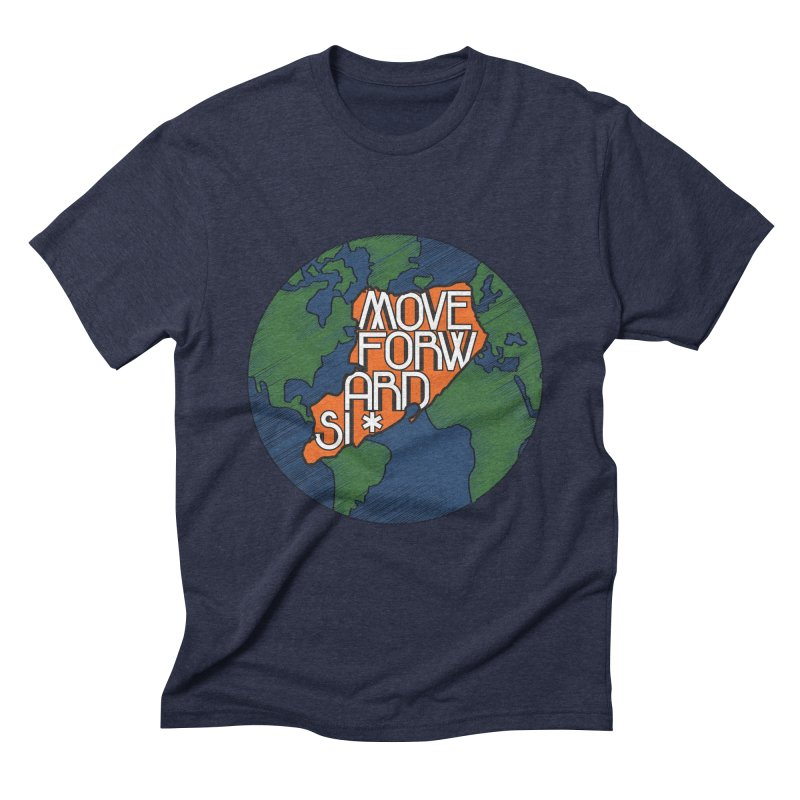 Love Our Island Men's Triblend T-Shirt by moveforwardsi's Artist Shop