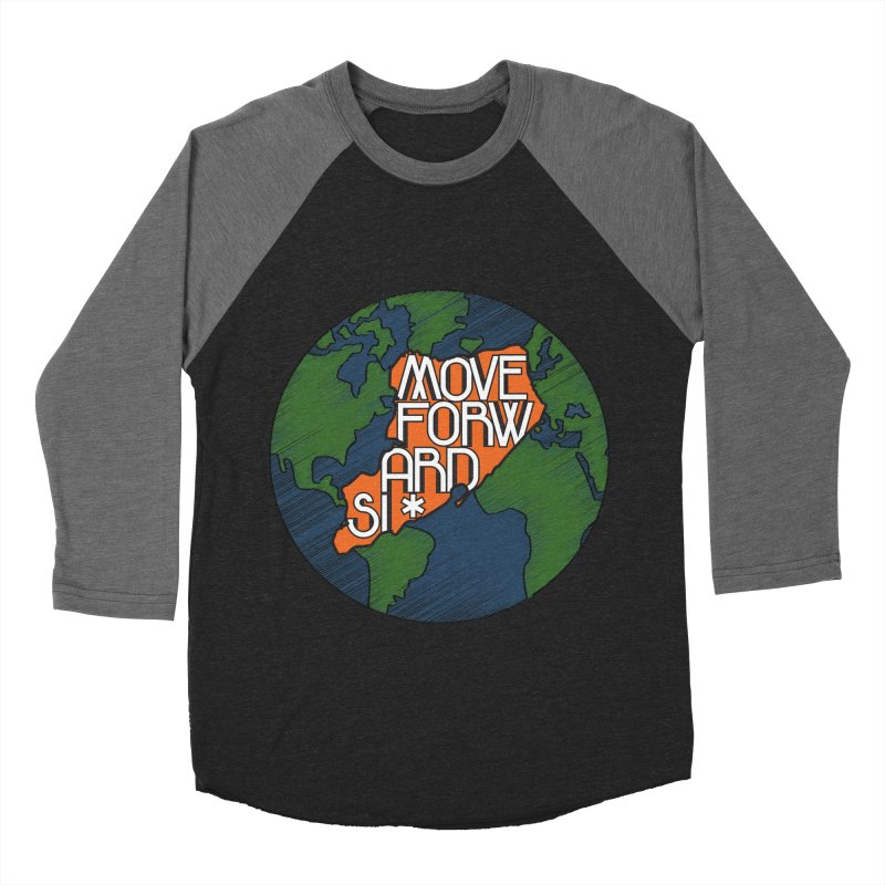 Love Our Island Women's Baseball Triblend Longsleeve T-Shirt by moveforwardsi's Artist Shop