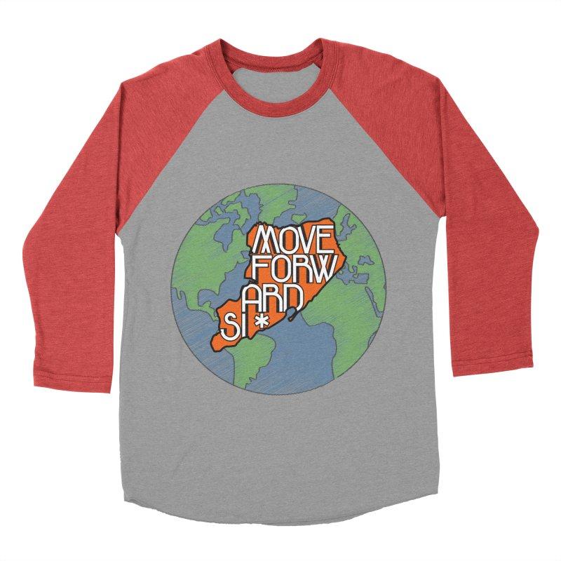 Love Our Island Men's Baseball Triblend Longsleeve T-Shirt by moveforwardsi's Artist Shop