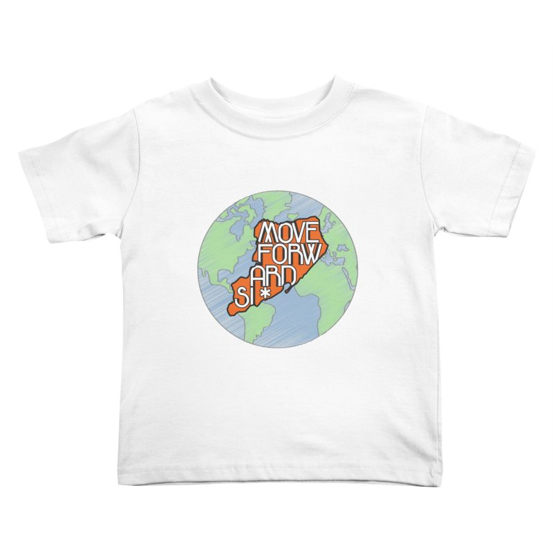 Love Our Island Kids Toddler T-Shirt by moveforwardsi's Artist Shop