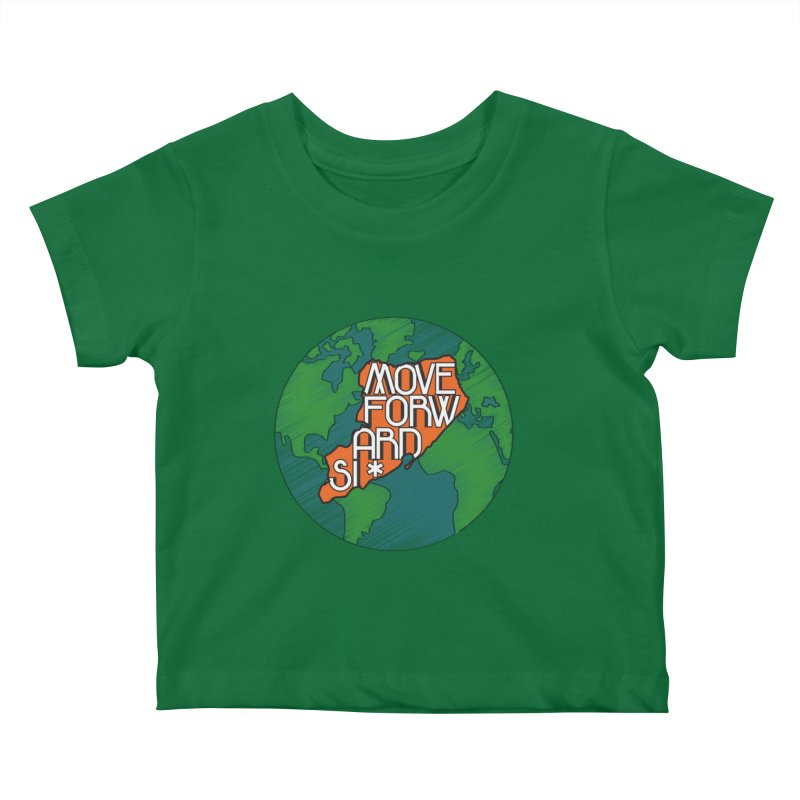 Love Our Island Kids Baby T-Shirt by moveforwardsi's Artist Shop