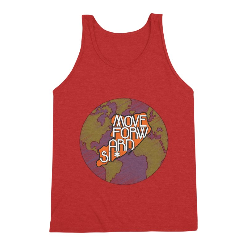 Love Our Island Men's Triblend Tank by moveforwardsi's Artist Shop