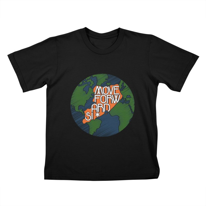Love Our Island Kids T-Shirt by moveforwardsi's Artist Shop