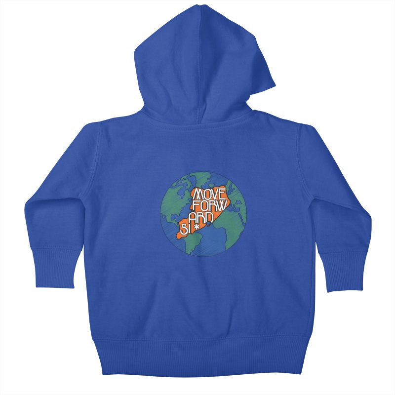 Love Our Island Kids Baby Zip-Up Hoody by moveforwardsi's Artist Shop