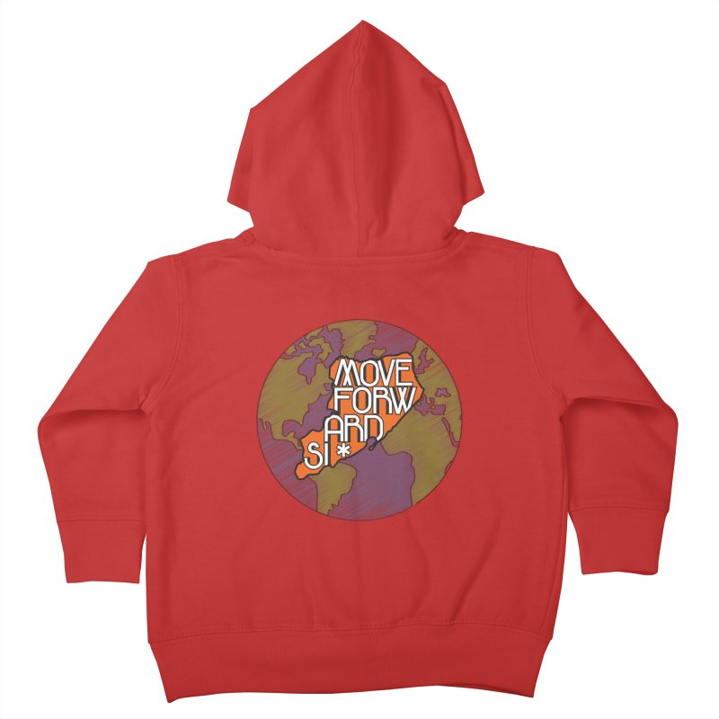 Love Our Island Kids Toddler Zip-Up Hoody by moveforwardsi's Artist Shop
