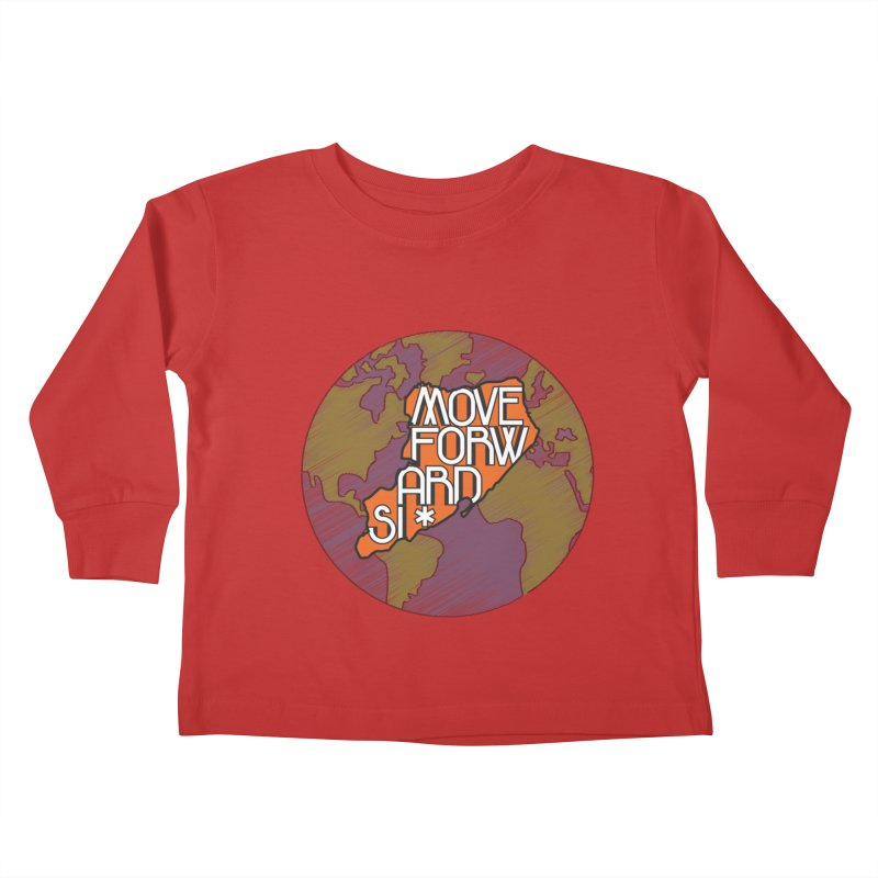 Love Our Island Kids Toddler Longsleeve T-Shirt by moveforwardsi's Artist Shop