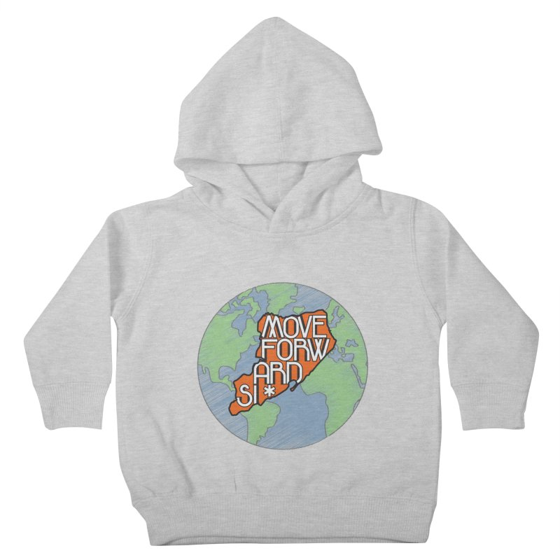 Love Our Island Kids Toddler Pullover Hoody by moveforwardsi's Artist Shop