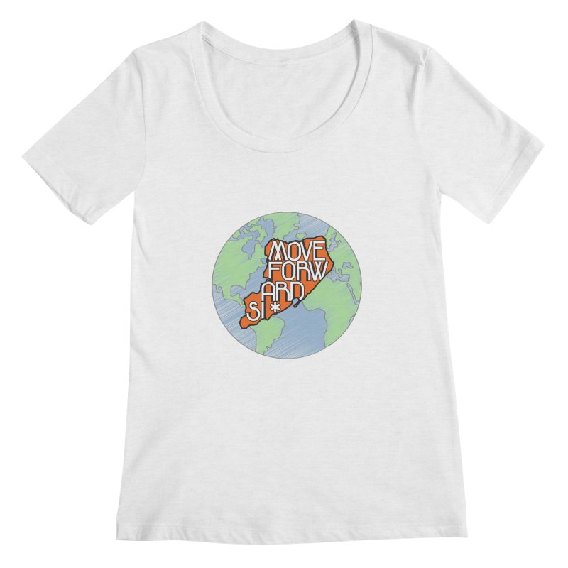 Love Our Island Women's Regular Scoop Neck by moveforwardsi's Artist Shop
