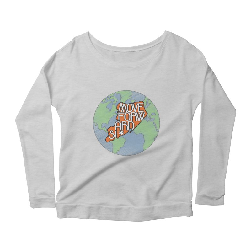 Love Our Island Women's Scoop Neck Longsleeve T-Shirt by moveforwardsi's Artist Shop