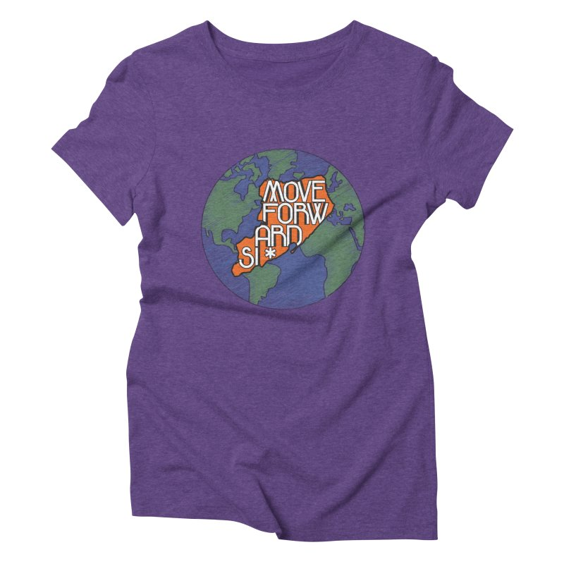 Love Our Island Women's Triblend T-Shirt by moveforwardsi's Artist Shop
