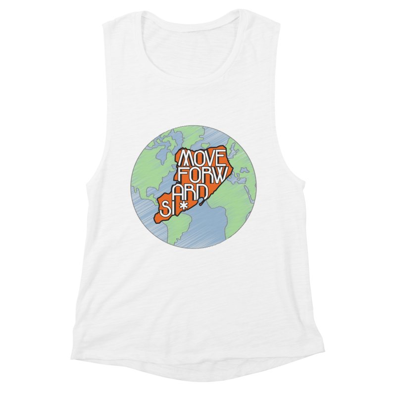 Love Our Island Women's Muscle Tank by moveforwardsi's Artist Shop