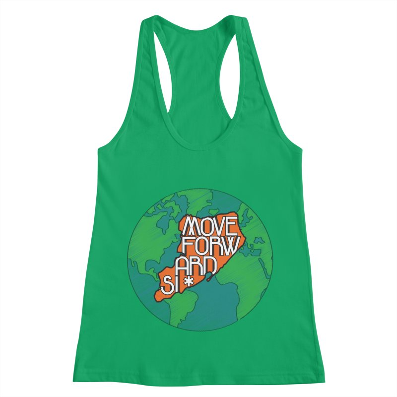 Love Our Island Women's Racerback Tank by moveforwardsi's Artist Shop