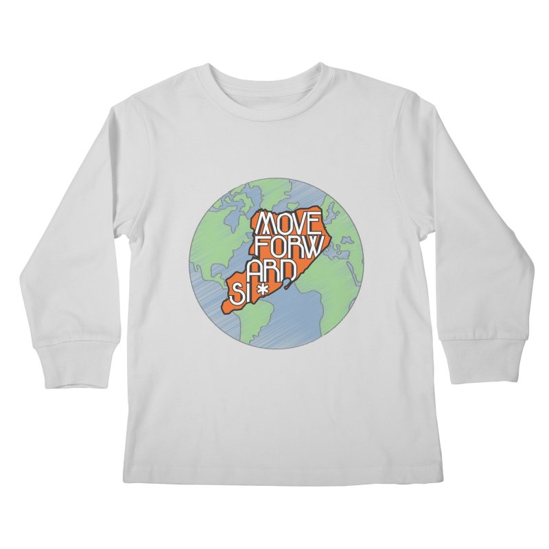 Love Our Island Kids Longsleeve T-Shirt by moveforwardsi's Artist Shop