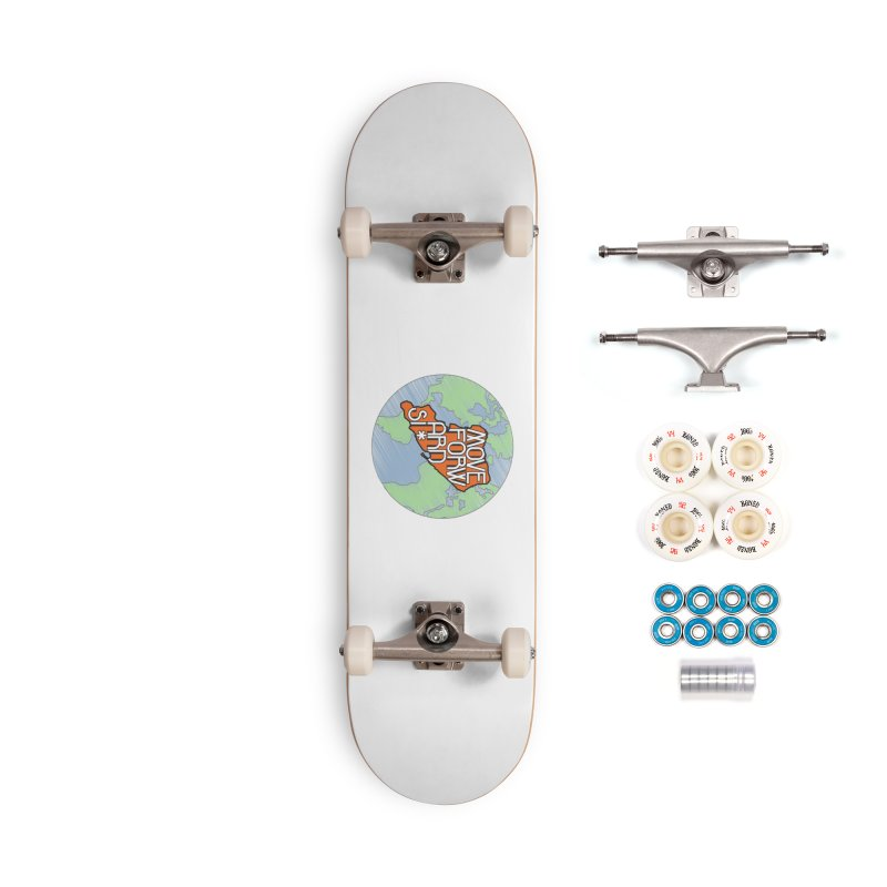 Love Our Island Accessories Complete - Premium Skateboard by moveforwardsi's Artist Shop