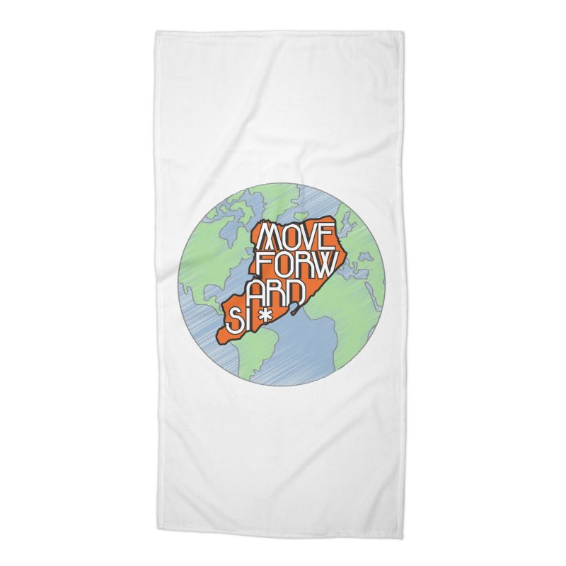 Love Our Island Accessories Beach Towel by moveforwardsi's Artist Shop