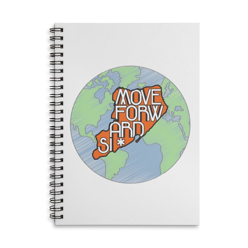 Love Our Island Accessories Lined Spiral Notebook by moveforwardsi's Artist Shop