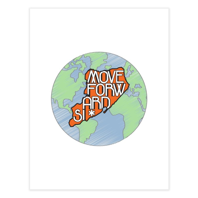 Love Our Island Home Fine Art Print by moveforwardsi's Artist Shop