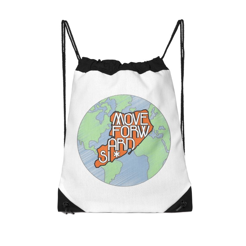 Love Our Island Accessories Drawstring Bag Bag by moveforwardsi's Artist Shop