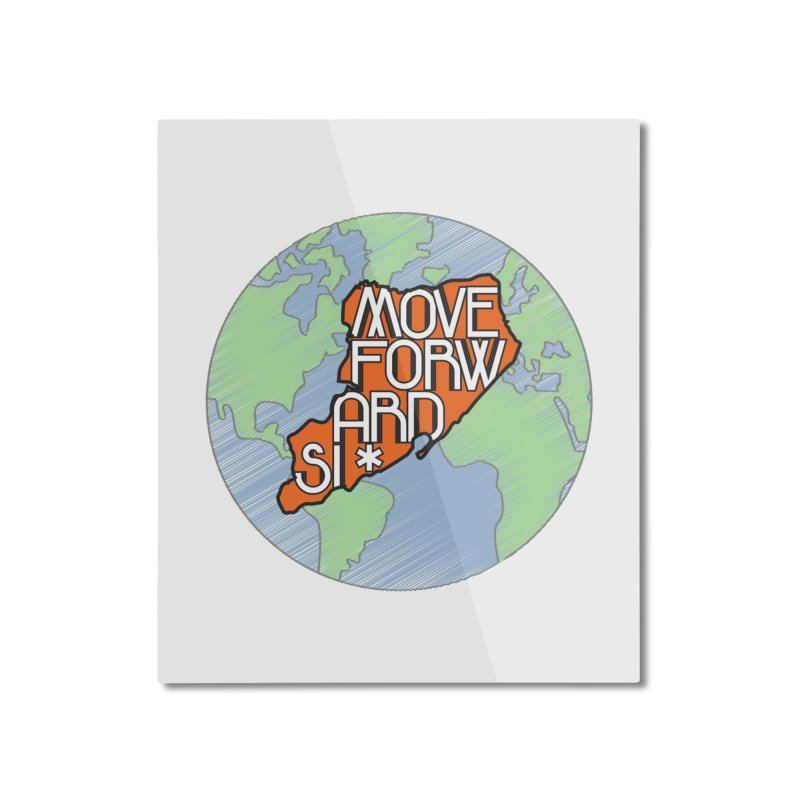 Love Our Island Home Mounted Aluminum Print by moveforwardsi's Artist Shop