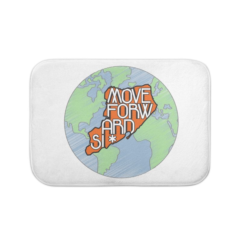 Love Our Island Home Bath Mat by moveforwardsi's Artist Shop
