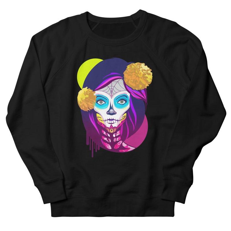 Lady Catrina: Day of Dead Men's Sweatshirt by moyart's Artist Shop