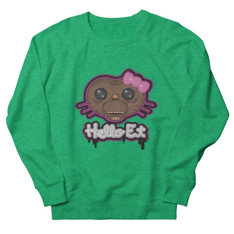 Hello E.T. Women's Sweatshirt by moyart's Artist Shop