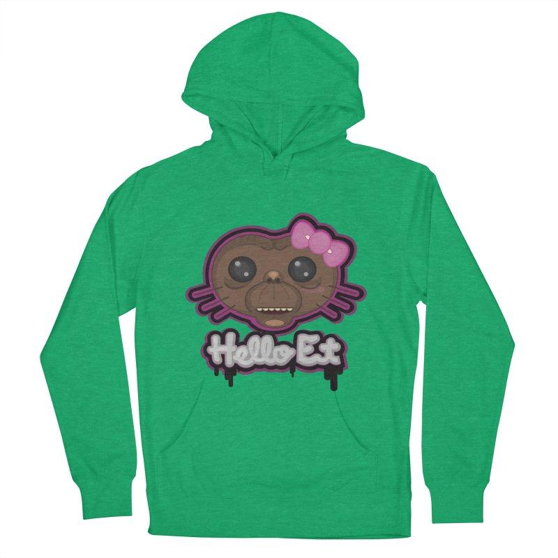 Hello E.T. Women's Pullover Hoody by moyart's Artist Shop