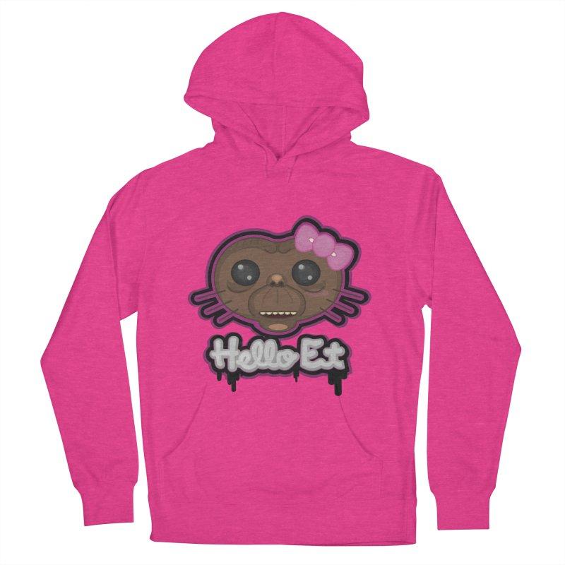 Hello E.T. Men's Pullover Hoody by moyart's Artist Shop