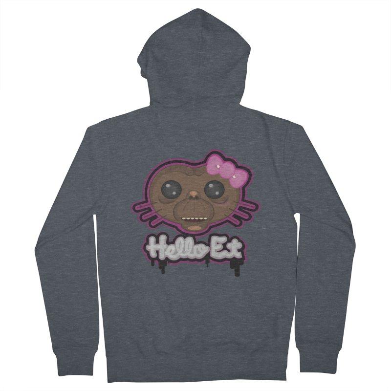 Hello E.T. Women's Zip-Up Hoody by moyart's Artist Shop