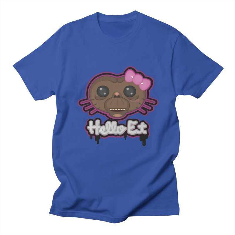 Hello E.T. Men's Regular T-Shirt by moyart's Artist Shop