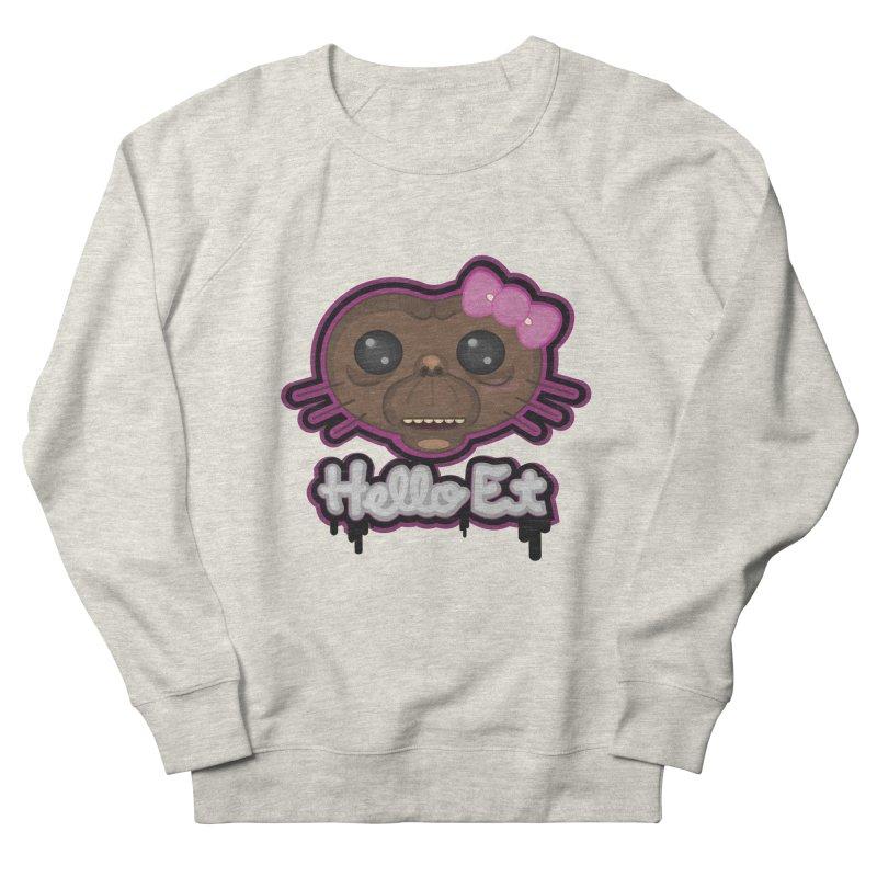 Hello E.T. Women's French Terry Sweatshirt by moyart's Artist Shop
