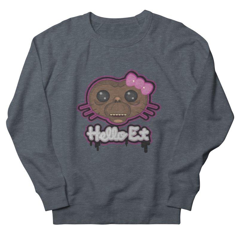 Hello E.T. Men's Sweatshirt by moyart's Artist Shop