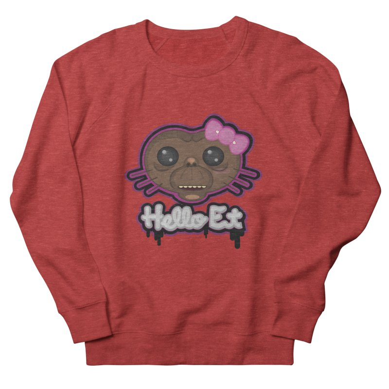 Hello E.T. Men's Sweatshirt by moyart's Artist Shop