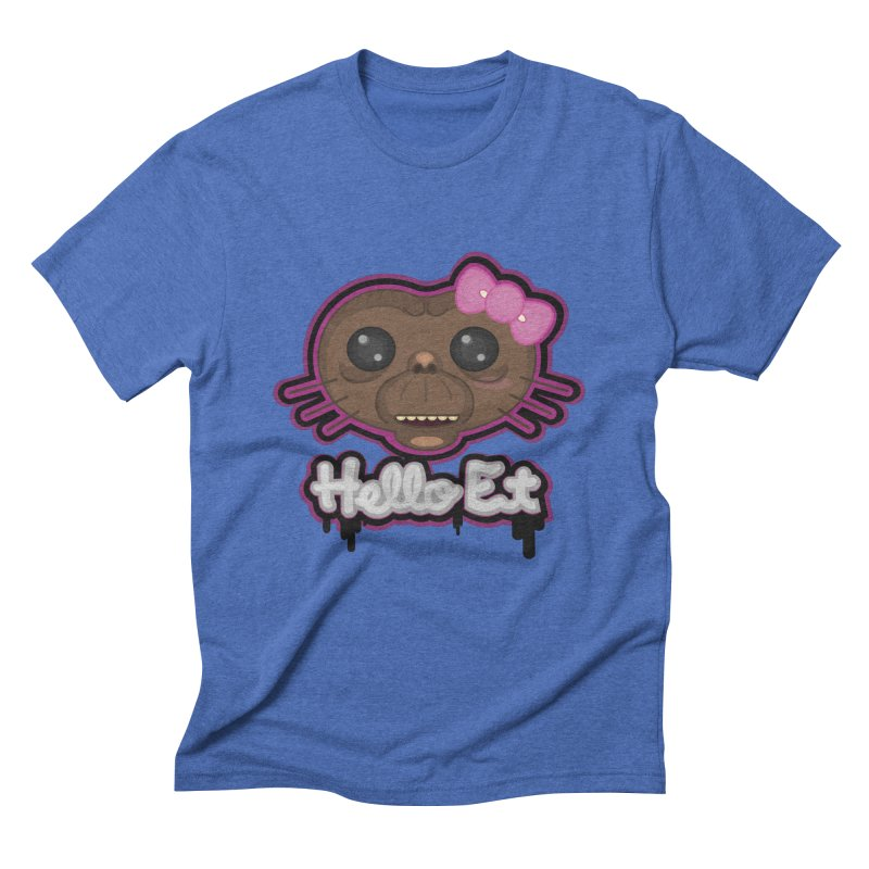 Hello E.T. Men's Triblend T-Shirt by moyart's Artist Shop