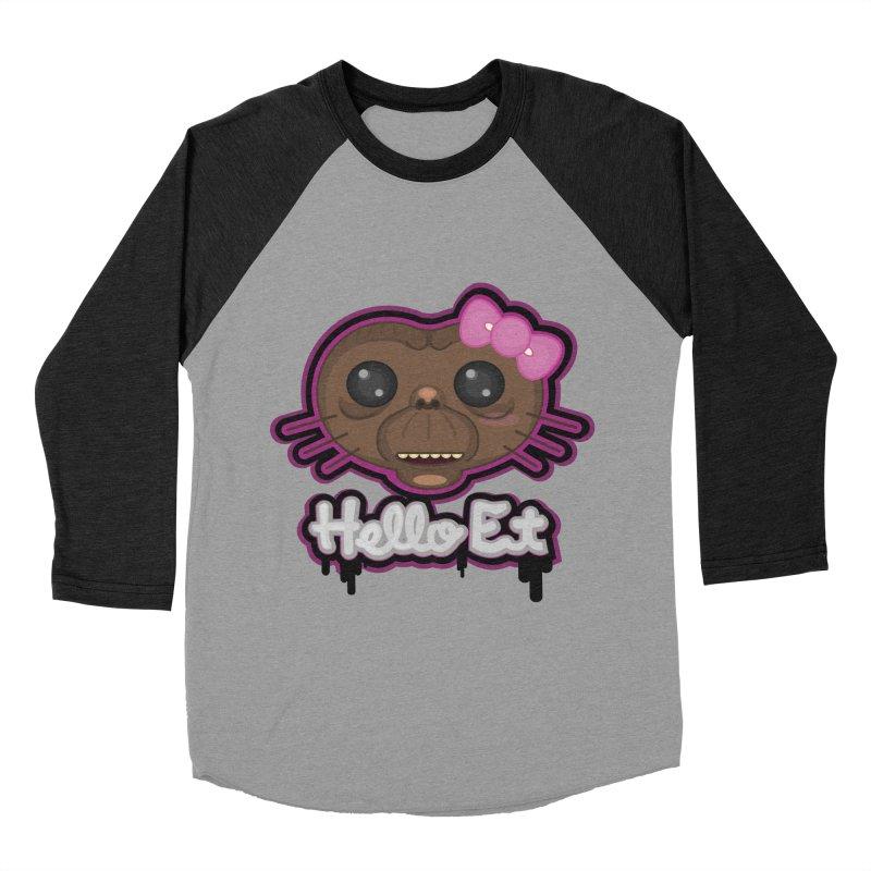 Hello E.T. Men's Baseball Triblend T-Shirt by moyart's Artist Shop