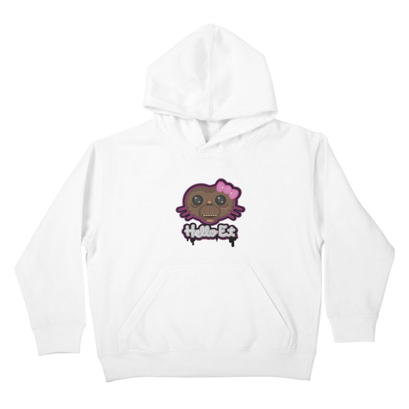 Hello E.T. Kids Pullover Hoody by moyart's Artist Shop